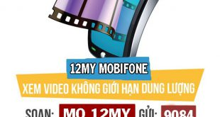 Đăng ký gói cước 12MY Mobifone thả ga xem Youtube, FPT Play