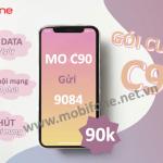 Đăng ký gói cước C90 Mobifone nhận ngay ưu đãi khủng