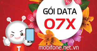 Đăng ký gói cước 07x Mobifone chỉ 27.000đ/lần đăng ký