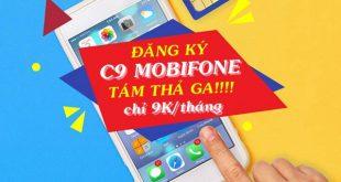 Đăng ký gói cước C9 Mobifone ưu đãi gọi thoại hấp dẫn