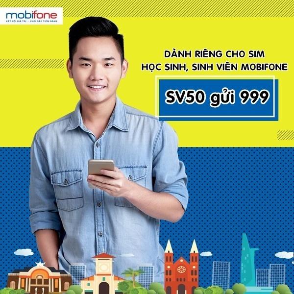Đăng ký gói cước SV50 Mobifone