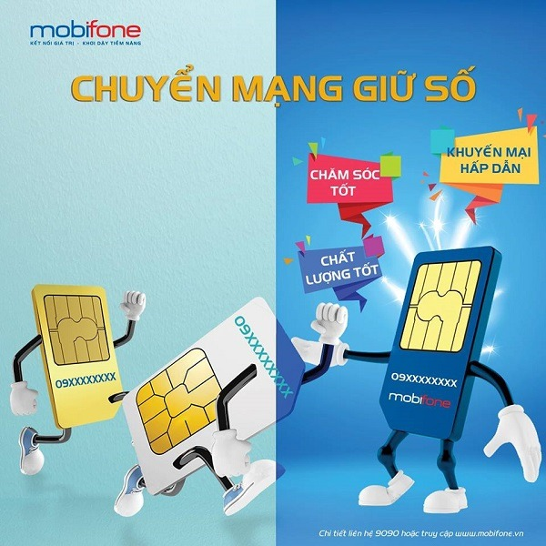 3 cách chuyển mạng giữ số các mạng sang Mobifone đơn giản và nhanh chóng
