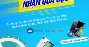 Đăng ký gói cước 4G Mobifone nhận ngay Iphone X