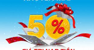 Mobifone khuyến mãi trả sau 28/11/2018 ưu đãi đến 50% giá trị mỗi lần nạp
