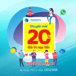 Mobifone khuyến mãi 12/12/2018 ưu đãi ngày vàng toàn quốc