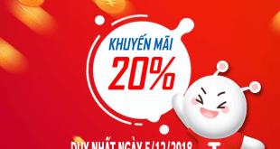 Mobifone khuyến mãi 5/12/2018 ưu đãi ngày vàng