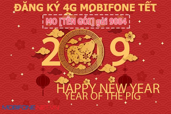 Đăng ký gói cước 4G Mobifone Tết ưu đãi khủng giá rẻ