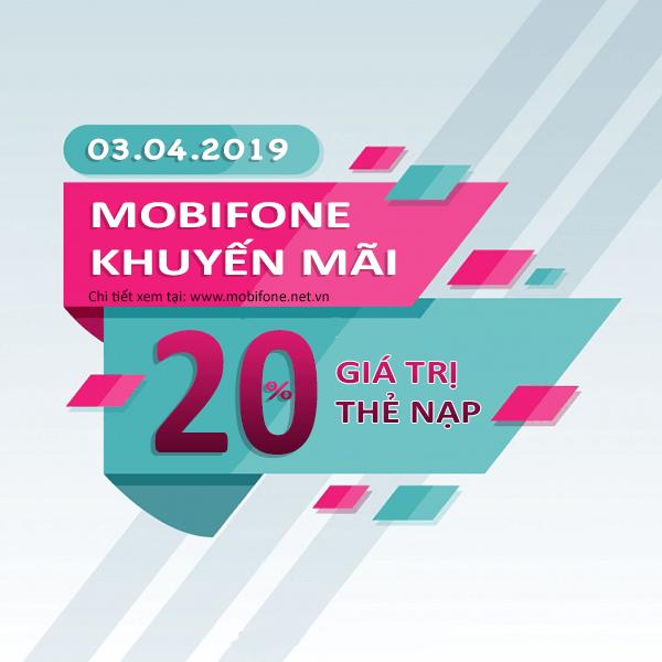 Mobifone khuyến mãi 3/4/2019 ưu đãi ngày vàng toàn quốc