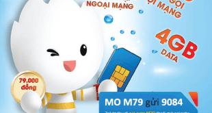 Đăng ký gói cước M79 Mobifone nhận ưu đãi 3 trong 1 hấp dẫn