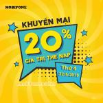 Mobifone khuyến mãi 22/5/2019 ưu đãi ngày vàng tặng 20% tiền nạp