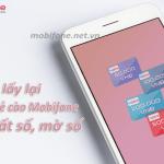 Cách lấy lại mã thẻ cào Mobifone mất số mờ số đơn giản nhất