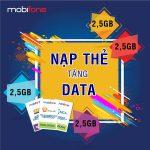 Nạp thẻ Mobifone tặng 2,5GB data áp dụng từ 2/5/2019 - 7/5/2019