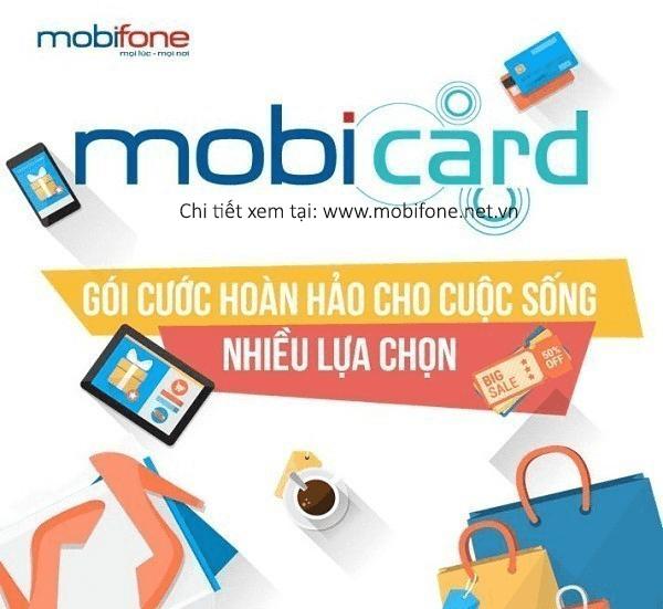 Hòa mạng trả trước sim MobiCard Mobifone gọi thoại siêu ưu đãi