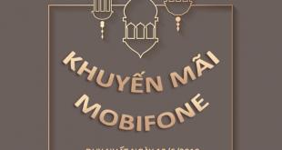 Mobifone khuyến mãi 12/6/2019 ưu đãi NGÀY VÀNG tặng 20% tiền nạp