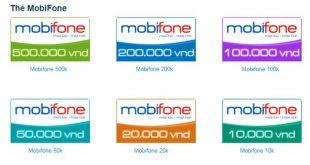 Hướng dẫn cách nạp thẻ Mobifone nạp thẻ cào Mobifone nhanh chóng nhất