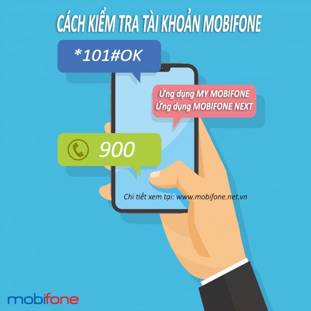 3 cách kiểm tra tài khoản Mobifone di động trả trước đơn giản nhất