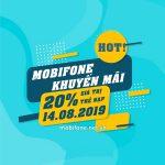 Mobifone khuyến mãi 14/8/2019 ưu đãi NGÀY VÀNG trên toàn quốc