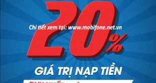 Mobifone khuyến mãi 28/8/2019 ưu đãi NGÀY VÀNG trên toàn quốc