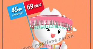 Đăng ký gói cước 21G Mobifone có ngay 45GB data trọn gói giá chỉ 69.000đ