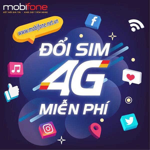 Cách đổi sim 4G Mobifone miễn phí nhanh chóng nhất