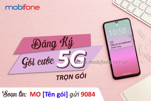 Danh sách gói cước 5G Mobifone trọn gói cho di động và Fast Connect