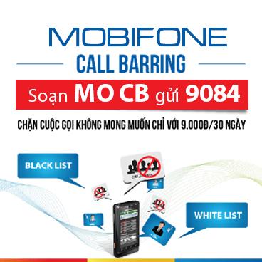 Đăng ký dịch vụ chặn cuộc gọi Mobifone, Call Barring MobiFone chỉ 9.000đ/tháng