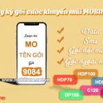 Cách đăng ký gói cước khuyến mãi Mobifone data, SMS, phút gọi miễn phí siêu hấp dẫn