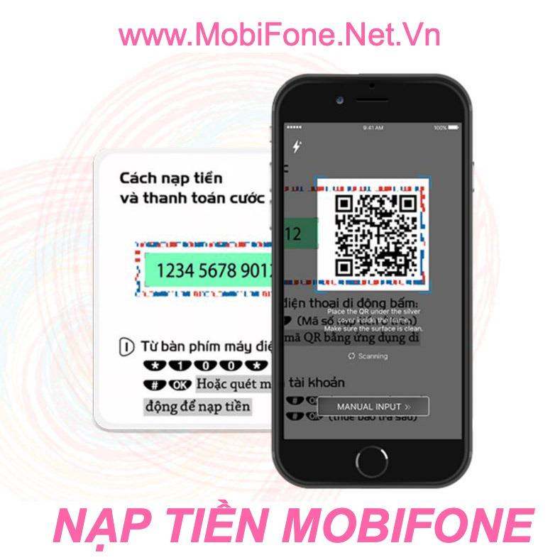 Cách nạp tiền Mobifone Online, nạp thẻ cào MobiFone thông dụng nhất