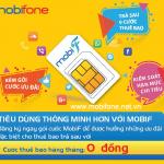 Hòa mạng trả sau gói MobiF Mobifone với gói cước ưu đãi hấp dẫn DATA + gọi thoại