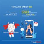 Cách đăng ký gói S50 Mobifone miễn hí 5GB data cùng nhiều ưu đãi tiện ích