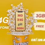 Cách đăng ký gói X4G Mobifone ưu đãi 3GB data, miễn phí Iflix