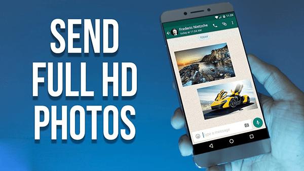 Cách gửi ảnh chất lượng HD trên điện thoại đơn giản và miễn phí