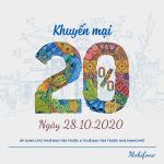 Mobifone khuyến mãi 28/10/2020 NGÀY VÀNG nạp thẻ tặng 20% giá trị tiền nạp