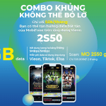 Cách đăng ký gói 2S50 Mobifone có 10GB data và nhiều tiện ích giải trí