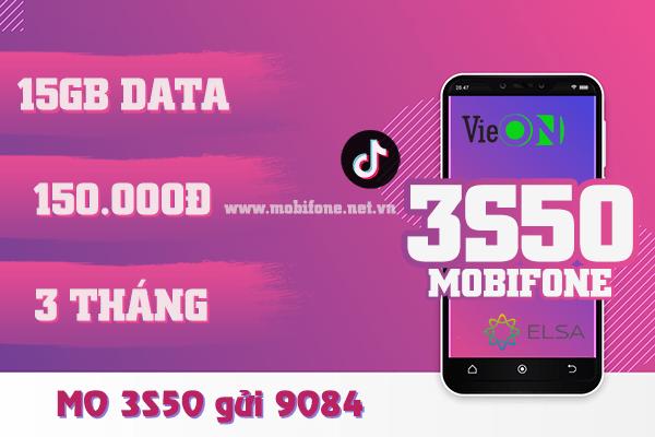 Cách đăng ký gói 3S50 Mobifone chỉ với 150k giải trí, truy cập mạng thả ga 3 tháng