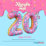 Mobifone khuyến mãi 1/12/2020 NGÀY VÀNG cho thuê bao di động trả trước