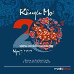 Mobifone khuyến mãi 27/1/2021 NGÀY VÀNG tặng 20% giá trị tiền nạp