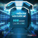 Khuyến mãi gói 5G Mobifone trải nghiệm miễn phí 5GB data tốc độ cao