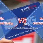 Sim Fast Connect Mobifone và sim thường khác nhau thế nào