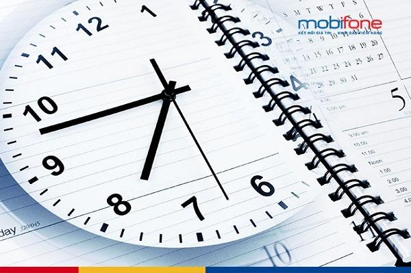 Thời gian làm việc cửa hàng Mobifone mấy giờ đến mấy giờ