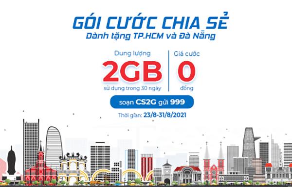 Khuyến mãi Gói Chia Sẻ Mobifone miễn phí 2GB data tốc độ cao