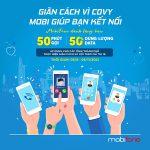 Mobifone khuyến mãi 50 phút gọi + data