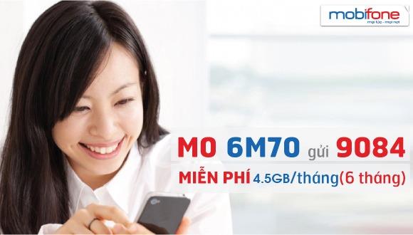 Đăng ký gói cước 6M70 Mobifone chỉ 420.000đ/6 tháng