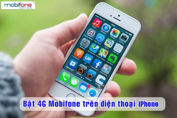 Cách bật tắt 4G Mobifone trên điện thoại iPhone
