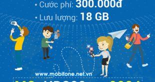 Đăng ký gói cước HD300 Mobifone chỉ 300.000đ/tháng