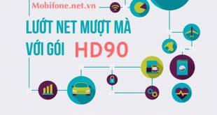 Đăng ký 4G gói HD90 Mobifone ưu đãi 3,5GB data