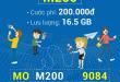 Đăng ký gói cước M200 Mobifone chỉ 200.000đ/tháng
