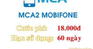 Dịch vụ báo cuộc gọi nhỡ 2 tháng MCA2 Mobifone