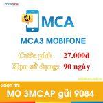 Dịch vụ báo cuộc gọi nhỡ 3 tháng MCA3 Mobifone