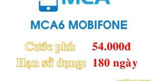 Dịch vụ báo cuộc gọi nhỡ MCA6 Mobifone 54.000đ/180 ngày